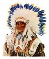 White Eagle as an Indian