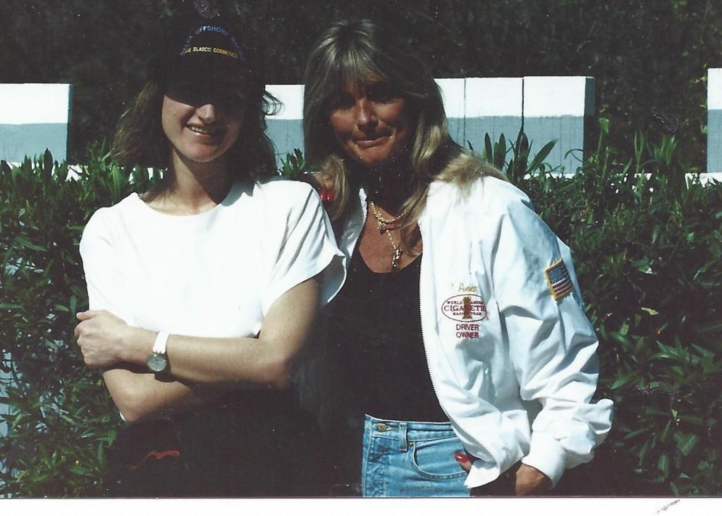 Me and Anna Dalva, speed racer